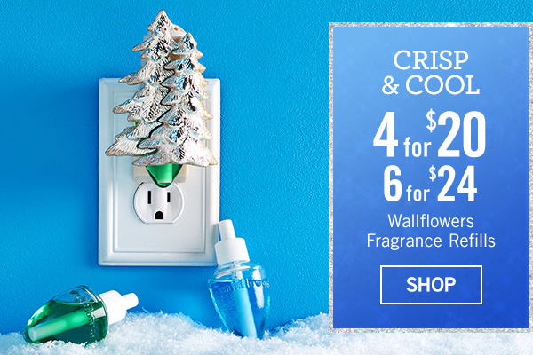 Crisp and cool 4 for $20, 6 for $24 - SHOP