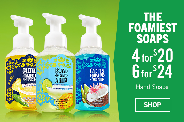 The Foamiest Soaps - 4 for $20 or 6 for $24 - SHOP