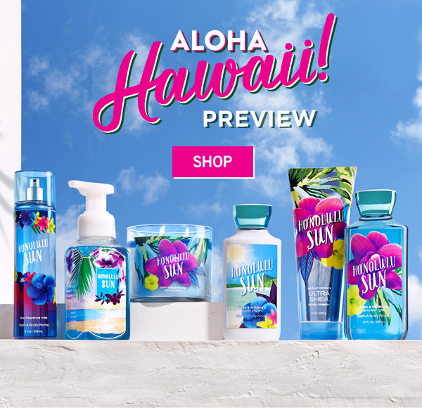 Aloha Hawaii Preview - SHOP
