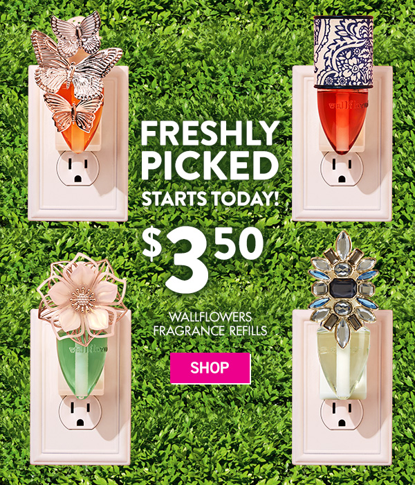 Starts Today! $3.50 Wallflowers Fragrance Refills - SHOP